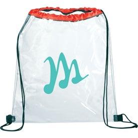 Rally Clear Cinch Bag for Customization