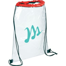 Rally Clear Cinch Bag for Marketing