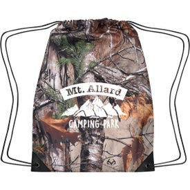 Realtree Drawstring Sports Pack