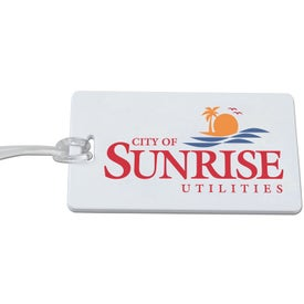 Rectangular Luggage Tag Giveaways