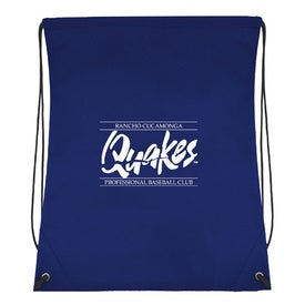 Monogrammed Recycled Non Woven Drawstring Backpack