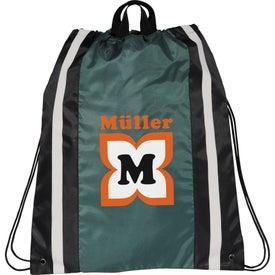 Custom Reflective Drawstring Backpack