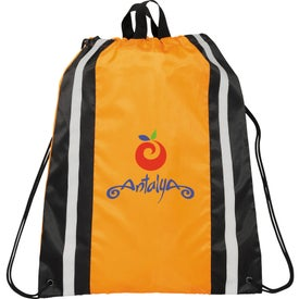 Reflective Drawstring Backpack for Your Church