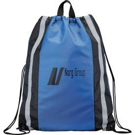 Reflective Drawstring Backpack Giveaways