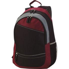 Reflective Stripe Computer Backpack Giveaways