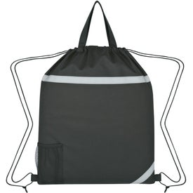 Advertising Reflecto-Insulated Drawstring Backpack