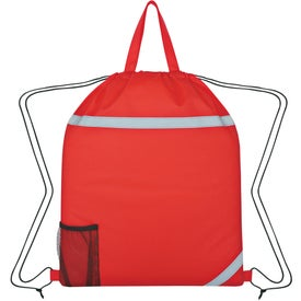 Reflecto-Insulated Drawstring Backpack with Your Logo