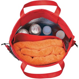 Advertising Reflecto-Insulated Drawstring Backpack