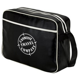 Retro Airline Shoulder Bag Printed with Your Logo