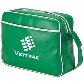 Retro Airline Shoulder Bag Imprinted with Your Logo