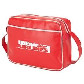 Personalized Retro Airline Shoulder Bag