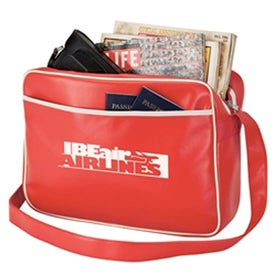 Personalized Retro Airline Shoulder Bag