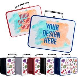 Customized Retro Lunch Box