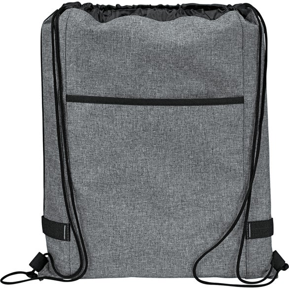 Graphite Reverb Drawstring Bag