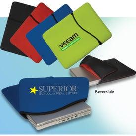 Reversible Laptop Sleeve - Neoprene for Advertising