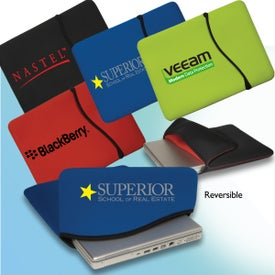 Branded Reversible Laptop Sleeve - Neoprene