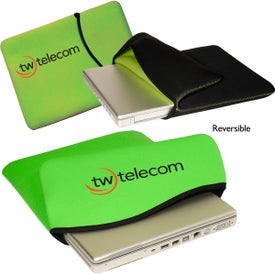 Reversible Laptop Sleeve - Neoprene Imprinted with Your Logo