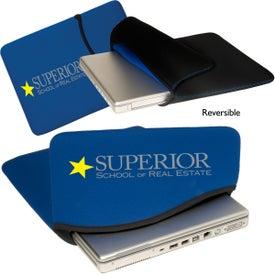 Logo Reversible Laptop Sleeve - Neoprene