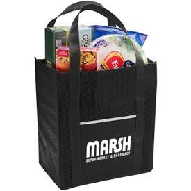 Riptide Non-Woven Grocery Tote Bag