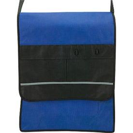 Printed Riscerca Messenger Bag