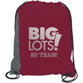 Rival Backsack Imprinted with Your Logo