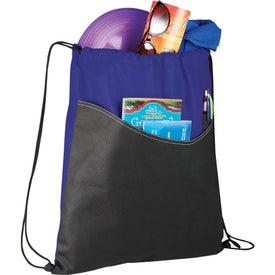 Monogrammed Rivers Pocket Cinch Backpack