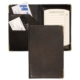 Riverside Jotter Wallet with Your Slogan
