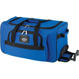 Rolling Duffel for Advertising