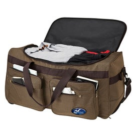 Customized Rolling Travel Duffel