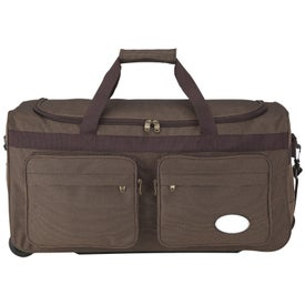 Rolling Travel Duffel for Advertising