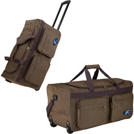 Rolling Travel Duffel for Marketing