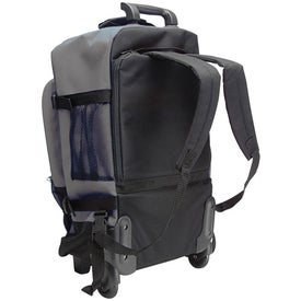 Rolling Backpack With Telescopic Handle Branded with Your Logo