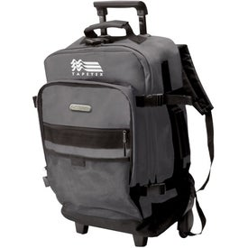 Rolling Backpack With Telescopic Handle for your School