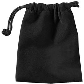Roman Mini Velour Pouch for Your Company