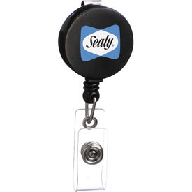 Round Badge Holder with Your Logo