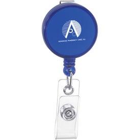 Custom Round Badge Holder