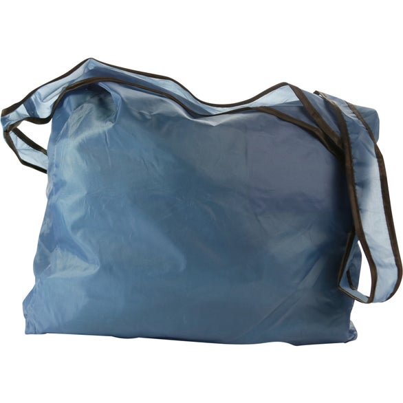 Steel Blue RPET Fold Away Sling Bag