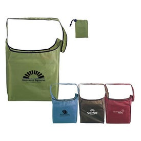 RPET Fold Away Sling Bag (Screen Print)