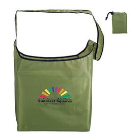 RPET Fold Away Sling Bag (Full Color Logo)