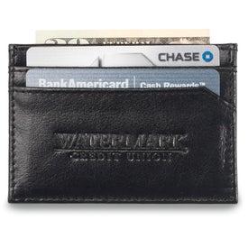 Imprinted Safe Travels Traverse Wallet