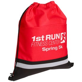 Custom Safety Drawstring Bag