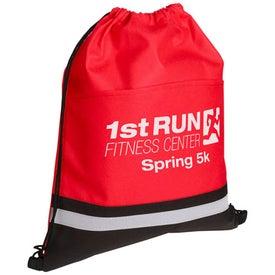 Custom Safety Drawstring Bag