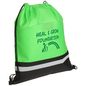 Safety Drawstring Bag Branded with Your Logo