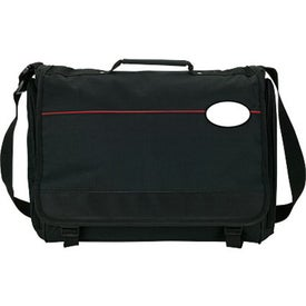 Imprinted Scalare Messenger Bag