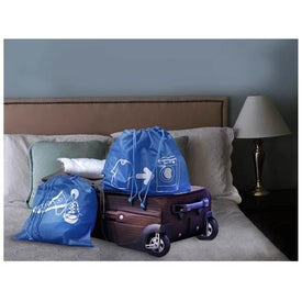 Monogrammed Set of Traveling Bags
