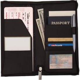 Sheaffer Classic Travel Wallet with Your Logo