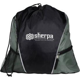 Sherpa Drawstring Backpack