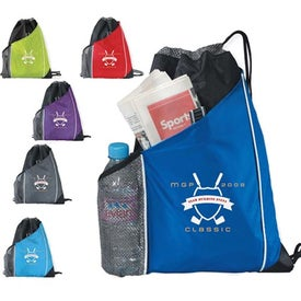 Sidecar Drawstring Pack with Your Logo
