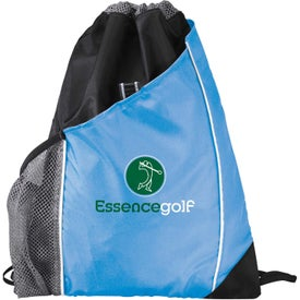 Personalized Sidecar Drawstring Pack