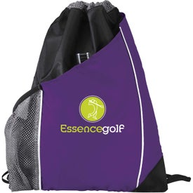 Promotional Sidecar Drawstring Pack